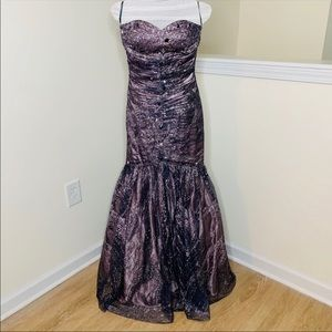 🎉5 for $25🎉Sparkle Beaded Mermaid Prom Dress